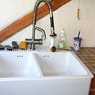 kundenspezifische massivholzmöbel und individuelle vollholzmöbel - Spülstein Küche